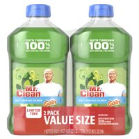 Mr. Clean Multi-Surface Cleaner with Gain Original Scent, 2 Pk, total 90 Fl Oz