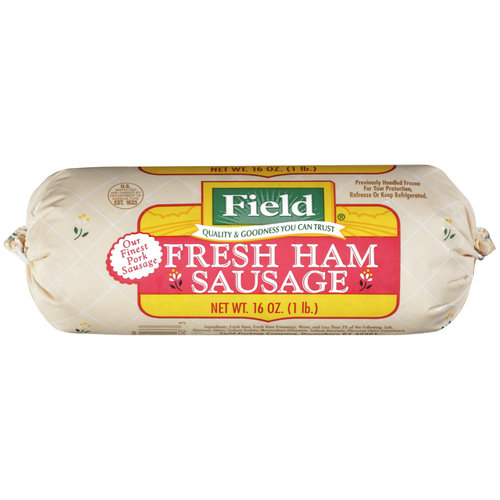 Field Fresh Ham Sausage, 16 oz
