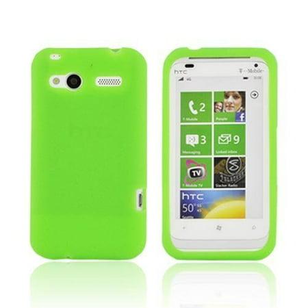 Silicone Skin Case for HTC Radar - Green