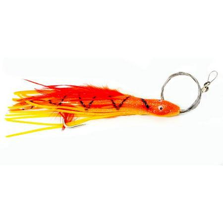 Boone Bait Dolphin Rig 2 oz Squirrel Fish Orange (Best Bait For Dolphin Fish)