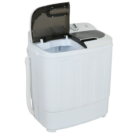 ZENY Mini Twin Tub Portable Compact Washing Machine Washer Spin Dry Cycle- 13lbs