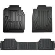 Armor All Full-Coverage Black HD Rubber Truck Floor Mat