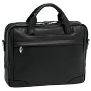 "McKlein, S Series, BRONZEVILLE, Pebble Grain Calfskin Leather, 15"" Leather Medium Laptop Briefcase"