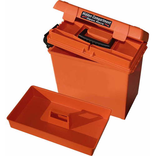 MTM Sportsman Dry Box, Large, Orange