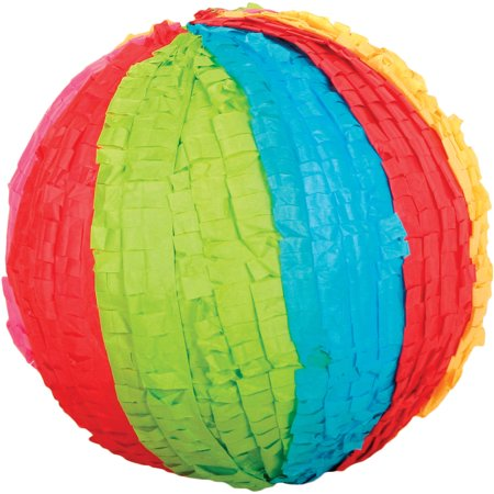 Beach Ball Party Piñata, Hand Crafted with Traditional Techniques