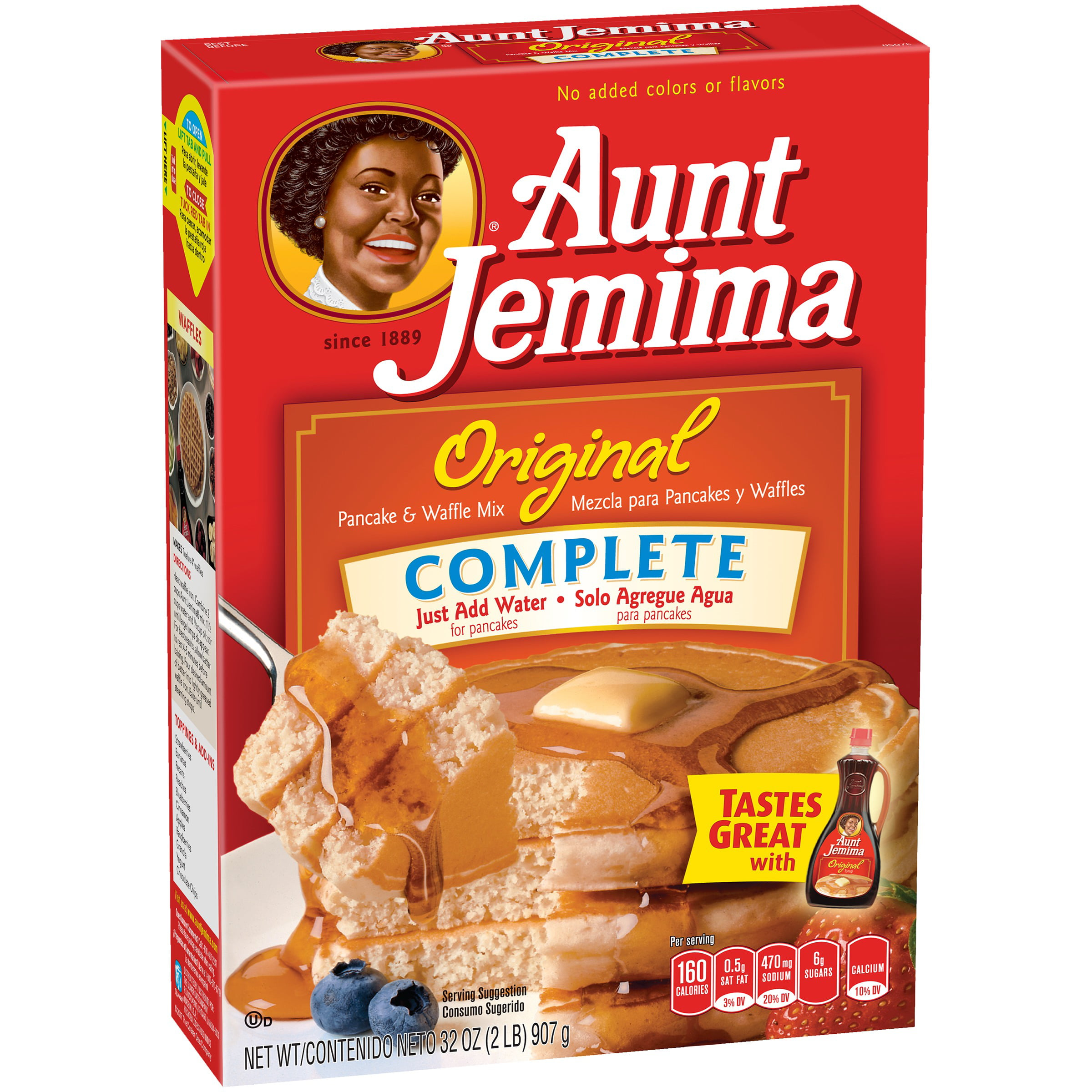 Aunt Jemima Original Complete Pancake & Waffle Mix 32 oz. Box by The Quaker Oats Company