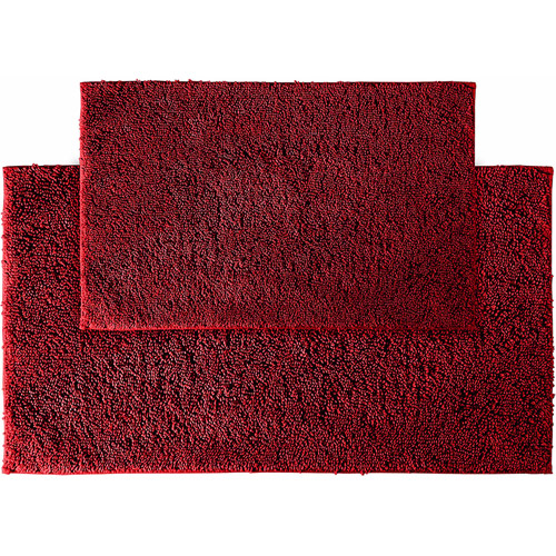 Queen Cotton 2-Piece Washable Bath Rug Set