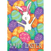 Lang Companies,  Happy Easter Outdoor Flag-Large - 28 x 40