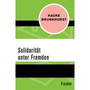 Solidarität unter Fremden - eBook