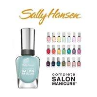 Sally Hansen Salon Manicure Finger Nail Polish Color Lacquer All Different Colors No Repeats Set of 10 10 Count - Salon Manicure