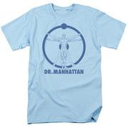 Watchmen Dr Manhattan Mens Short Sleeve Shirt