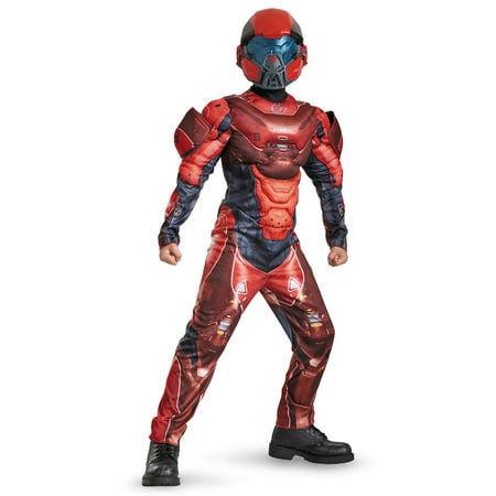 Spartan Costume Ideas (Halo Boys Red Spartan Classic Muscle)