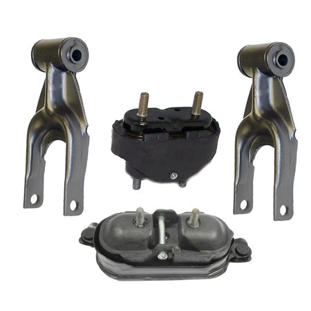 For 04-05 Pontiac Grand Prix 3.8L 2906 2866 2866 2712 Set 4PCS Engine Motor and Transmission Mount 04 05 (2000 Pontiac Grand Prix Gtp)