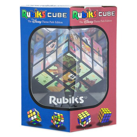 Disney Theme Park Edition Mickey & Friends Rubik's Cube Puzzle New with Box Disney Mickey Mouse Jigsaw Puzzles