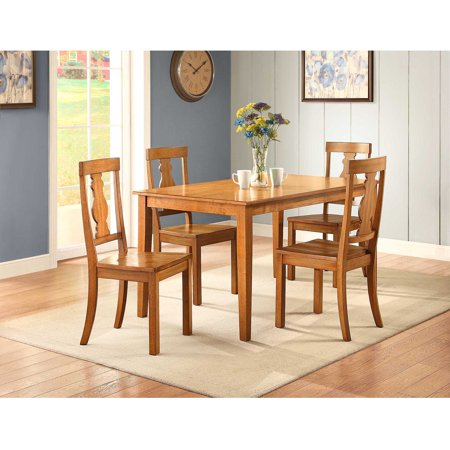 Better Homes And Gardens Bankston Dining Table Honey Best Dining Room Tables