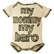 United States Air Force My Mommy My Hero Embroidered Baby Bodysuit 3-6M