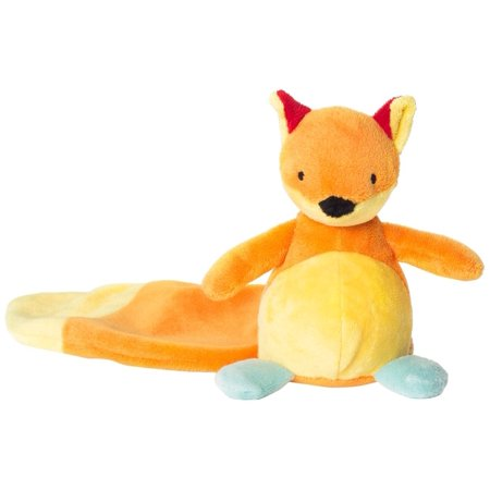 Toy, Fox, Small, Bright and bold friend in velvety velour with embroidered eyes By North American Bear Ship from US