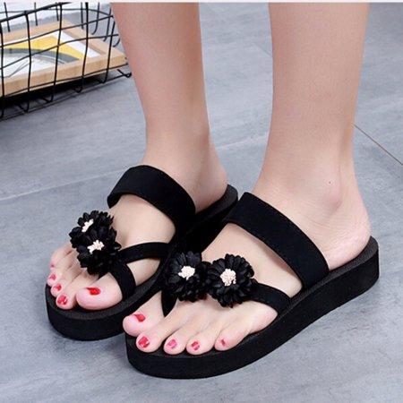 50324a130839 DZT1968 - DZT1968 Summer Beach Shoes Platform Bath Slippers Wedge Flip  Flops Slippers Women Shoes - Walmart.com