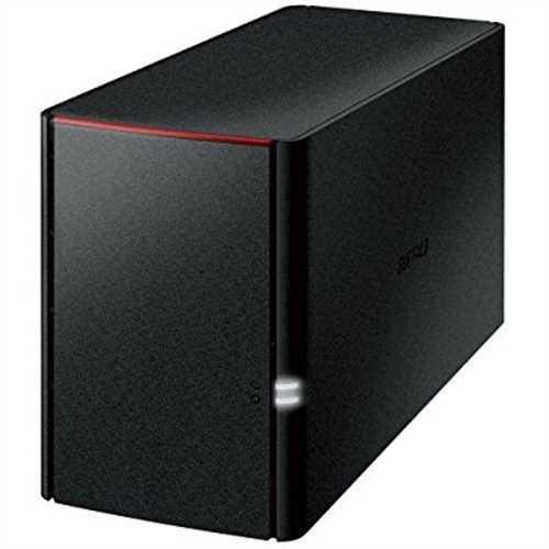 Refurbished LinkStation 220 2TB Personal Cloud Storage with Hard Drives Included
