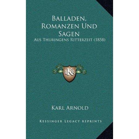 Balladen, Romanzen Und Sagen - image 1 of 1