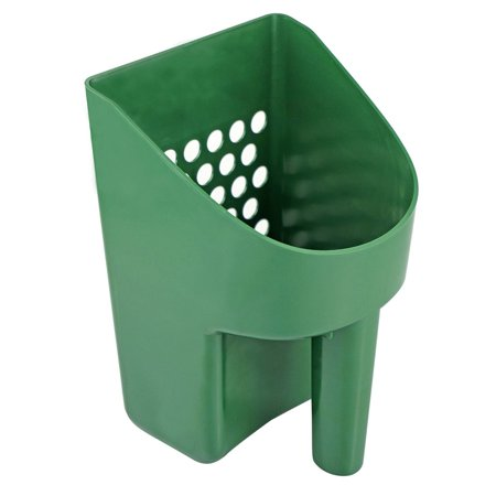 ASR Outdoor 8.5 Inch Green Sand Scooper Heavy Duty Plastic for Metal