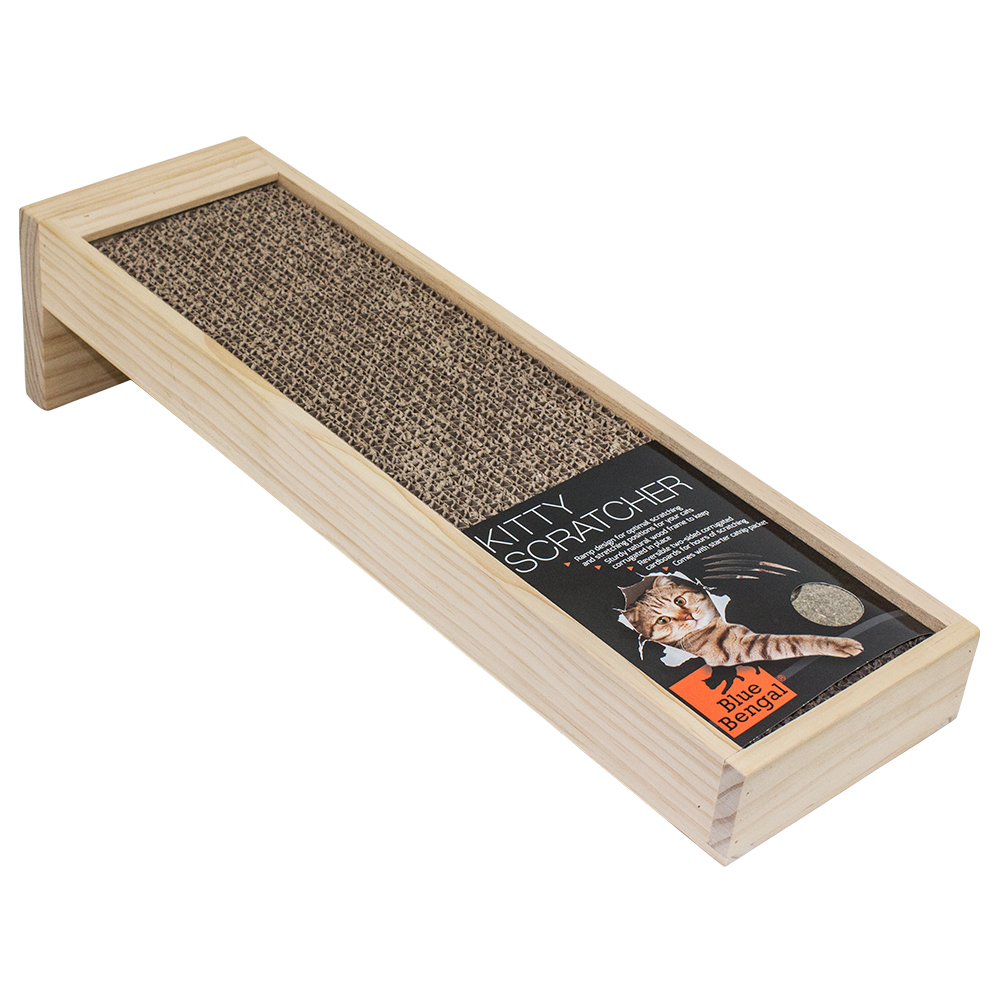 Blue Bengal Kitty Scratcher