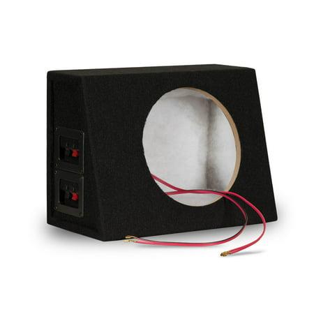 """Goldwood Sound TR8P Sealed Single Car Speaker Cabinet Box for 8"""" Dual Woofer"""