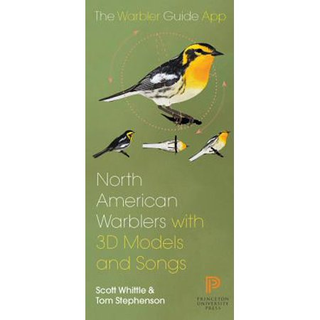 North American Warbler Fold-Out Guide (Best Bird Guide App)