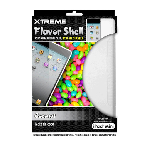 Xtreme Coconut Flavor Shell Soft Durable Gel Case for the iPad Mini