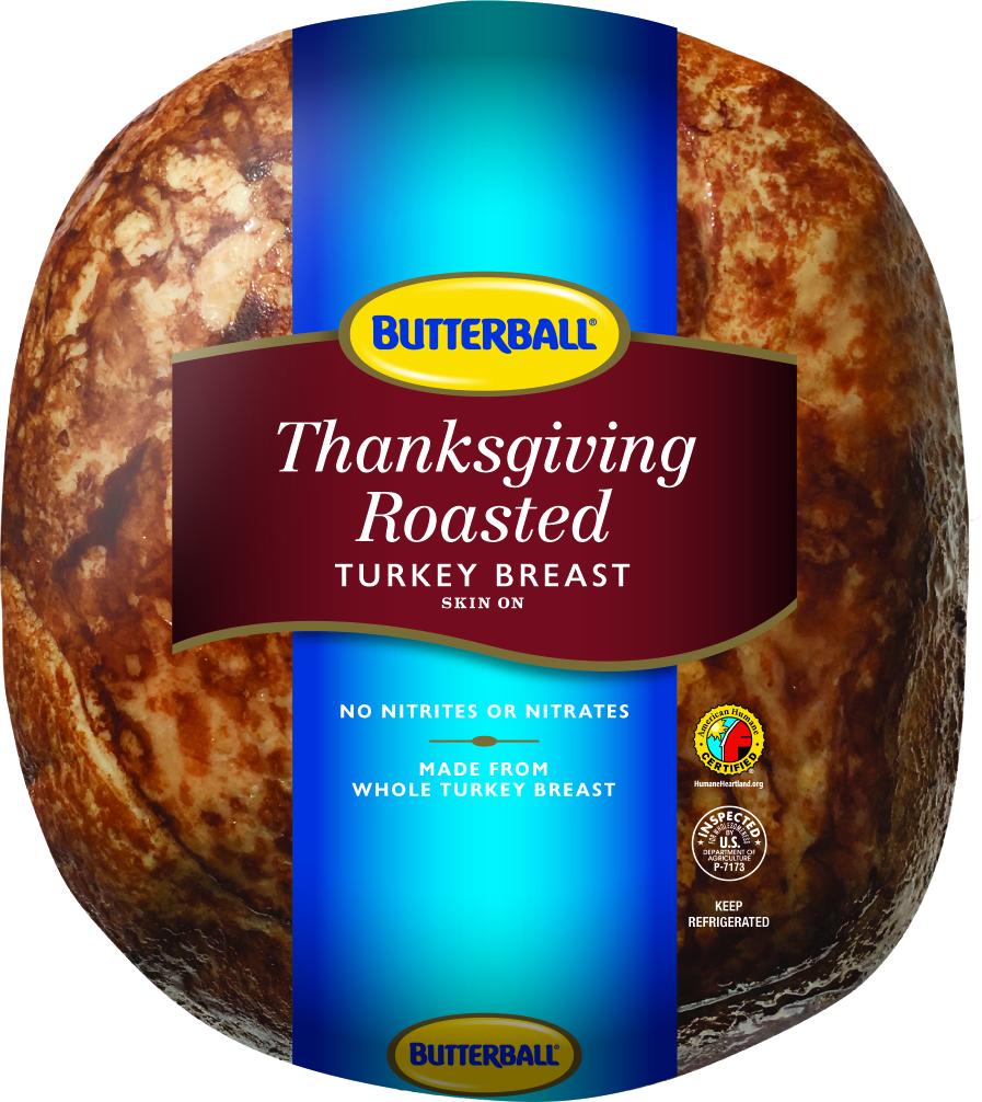 Butterball Thanksgiving Roasted Turkey Breast, Deli Sliced