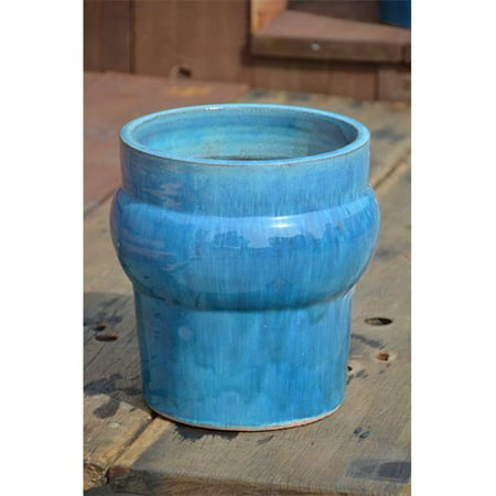 Pacific Home and Garden PV-LB223FAQ-C Le Beau Big Belly Pot - Small, Falling Aqua