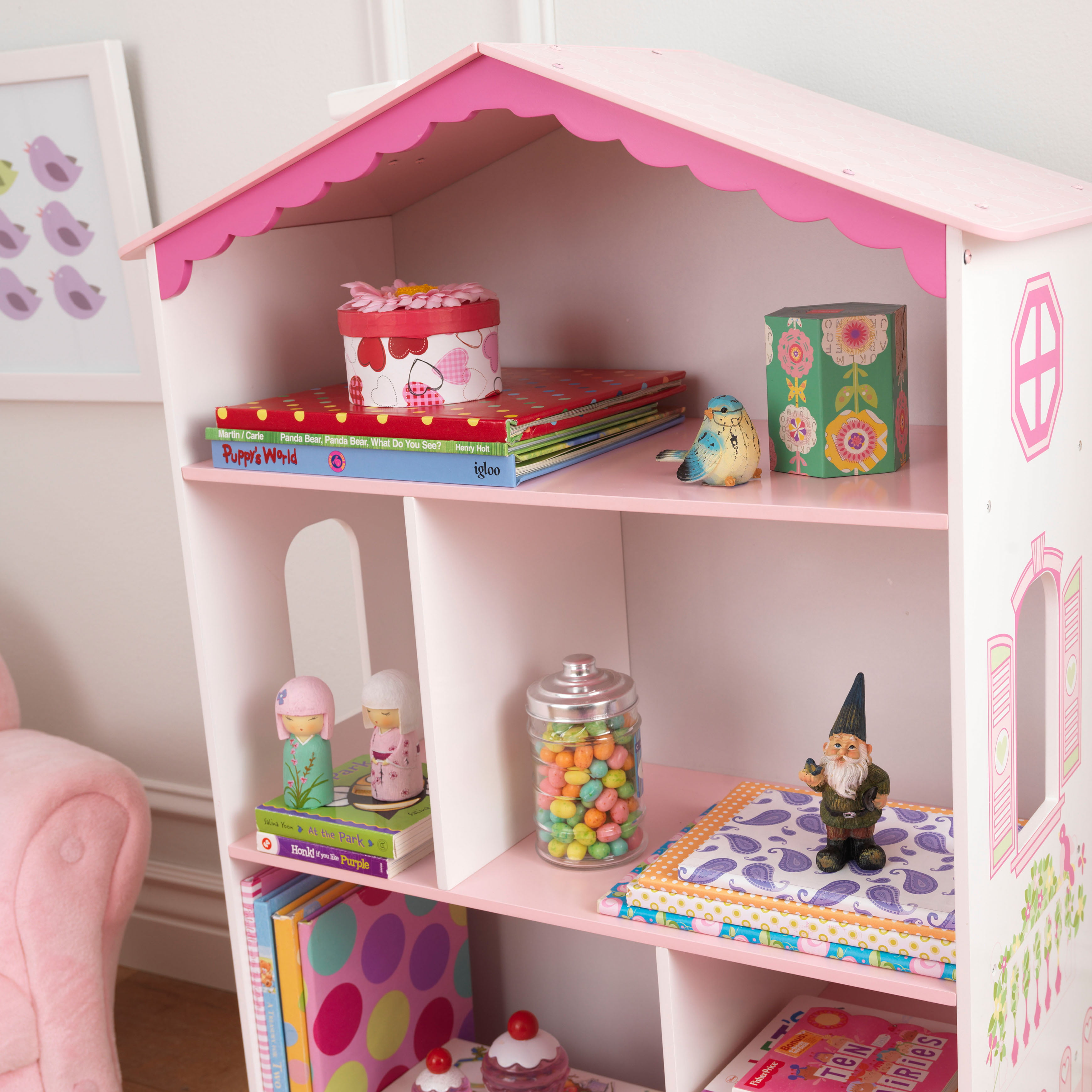 plans guide bookcase cottage dollhouse patterns bookcases diy