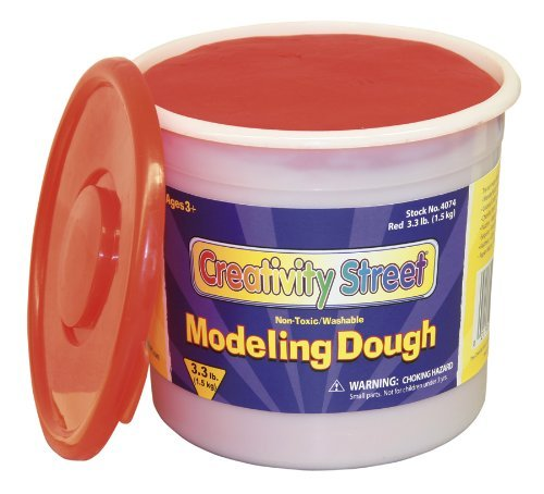 Chenillekraft 3lb Tub Modeling Dough - Red (CKC4074)