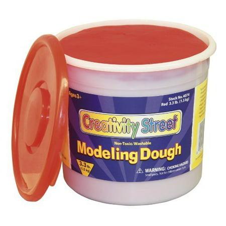 Chenillekraft 3lb Tub Modeling Dough - Red (CKC4074) for $<!---->