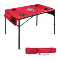 Philadelphia Phillies Portable Folding Travel Table - Red