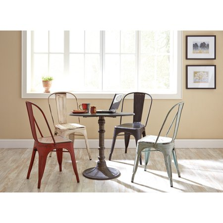 Coaster Company Dining Table, Bronze (Antique Bronze Finish Occasional Table)