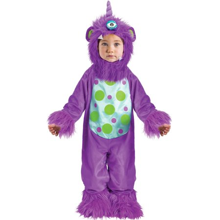 Li'l Monster Infant Costume (Purple) - Lil Monster Costume