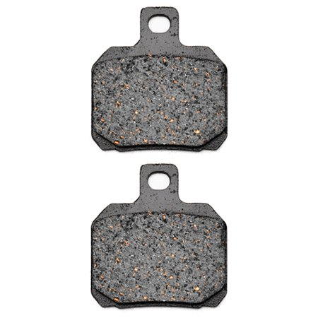 Aprilia Tank Pads (KMG Rear Brake Pads for 1998-2011 Aprilia RSV 1000 Mille SP - Non-Metallic Organic NAO Brake Pads Set)
