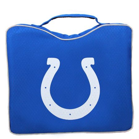 NFL Lightweight Stadium Bleacher Seat Cushion with Carrying Strap, Indianapolis Colts - image 1 de 1