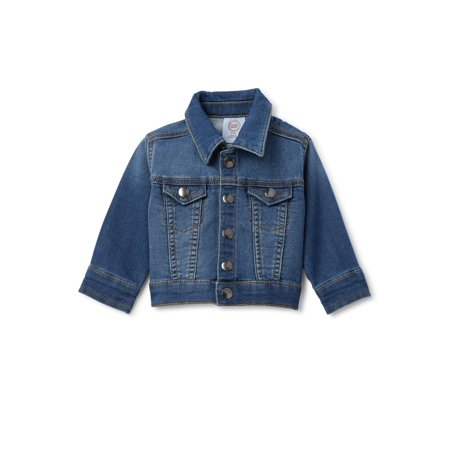 Wonder Nation Baby & Toddler Boys Denim Jacket (Sizes 0M-5T)