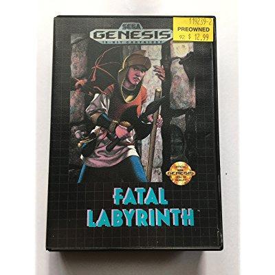 Fatal Labyrinth - Sega Genesis