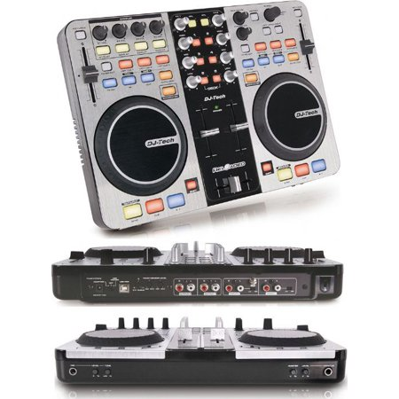 Dj Tech RELOADED 6-deck Usb Dj Controller W/audio Interface Built-in, Supports Midi Over
