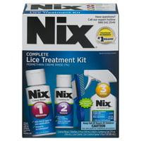 Nix Complete Lice Treatment Kit, Kills Lice and Eggs, Lice Comb