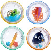 Munchkin Float and Play Bubbles Bath Toy, 4 Pack