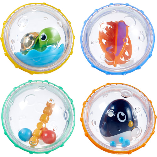 Munchkin Float and Play Bubbles, 4 Pack