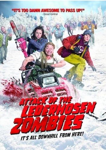 Attack of the Lederhosen Zombies (DVD) by Allied Vaughn