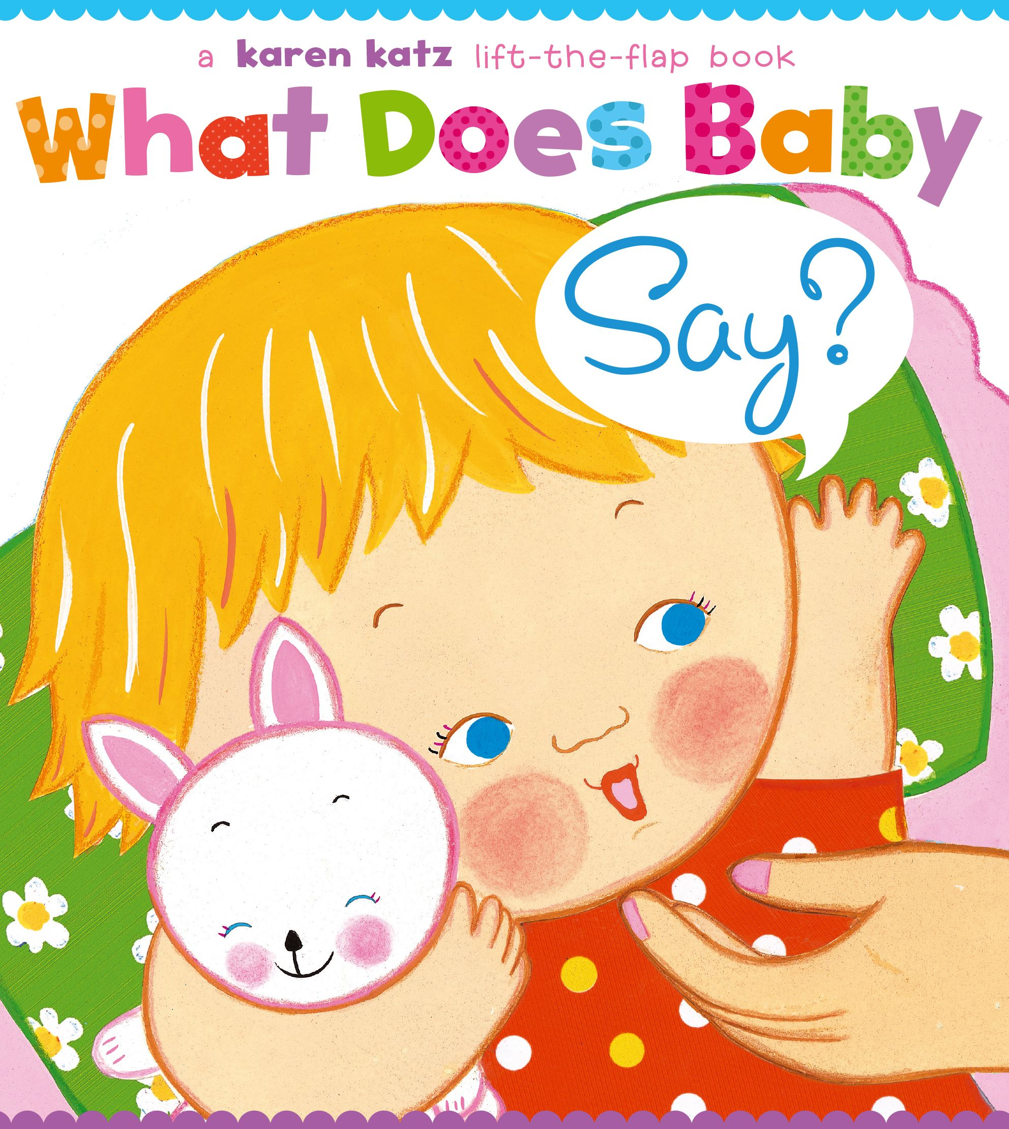 What Does Baby Say (Board Book)