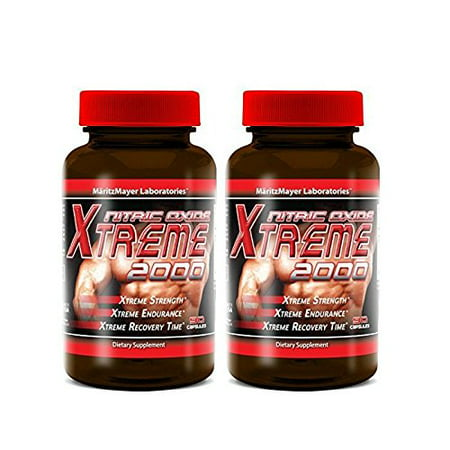 Maritzmayer Labs Nitric Oxide Xtreme 2000, Nitric Oxide Booster, 2 Ct