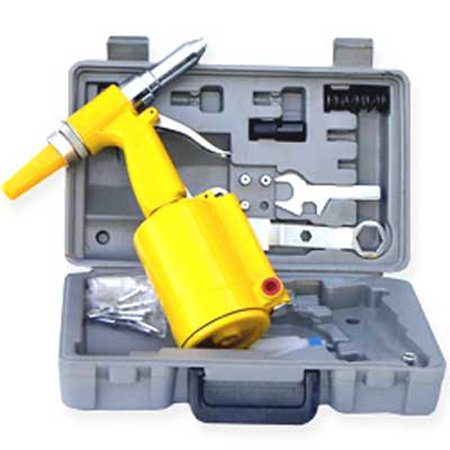 Air Riveter Tools - Air Rivet Gun Pop Riveter Riveting Tool With Case