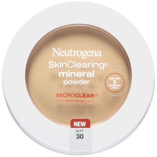 Neutrogena Skinclearing Mineral Powder, Buff 30, 0.38 oz